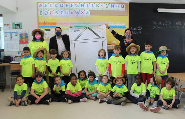 Concurs de pintura escolar al voltant dels valors de l'Aplec