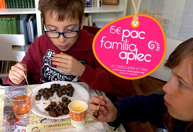 El Pac Família Aplec convida els lleidatans a viure la festa a casa