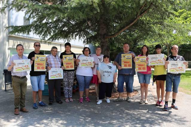 Els jardins de l'Associació Alba de Tàrrega acullen una caragolada solidària de l'Aplec del Caragol