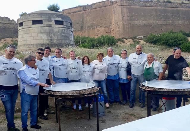 2.000 euros per Aspros gràcies a la Caragolada Solidària i la Trotacaragol