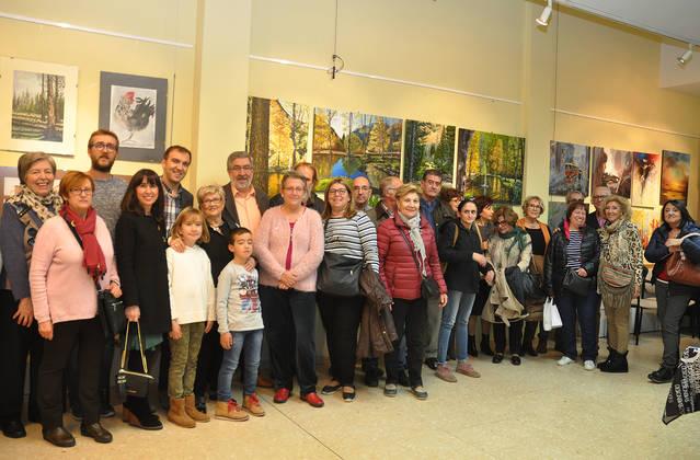 Inauguració de l'exposició d'Isidre Soria