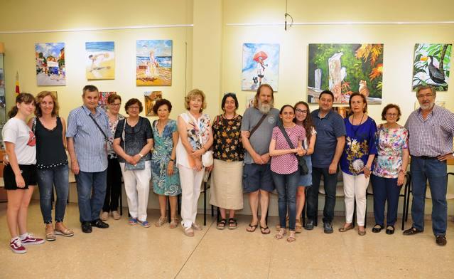 Inauguració de l'exposició de Victòria Cerecedo