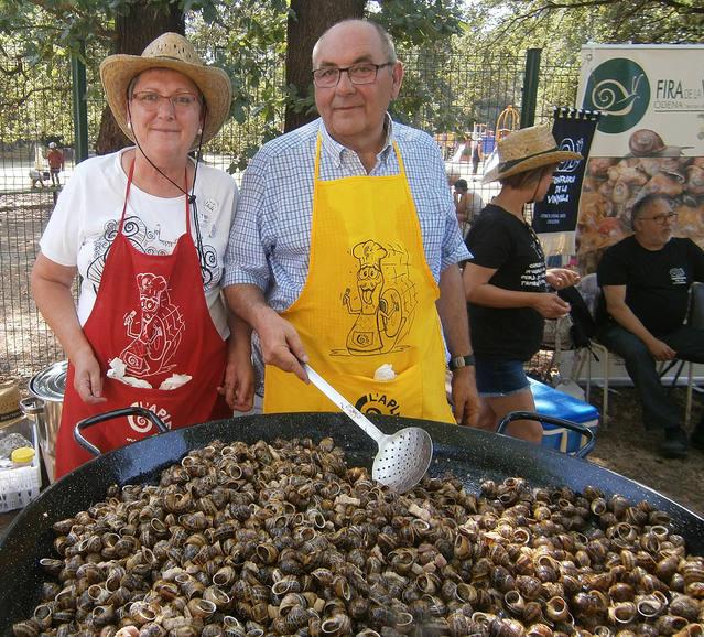 La Fecoll, al I Festival de la Route Européenne de l'Escargot