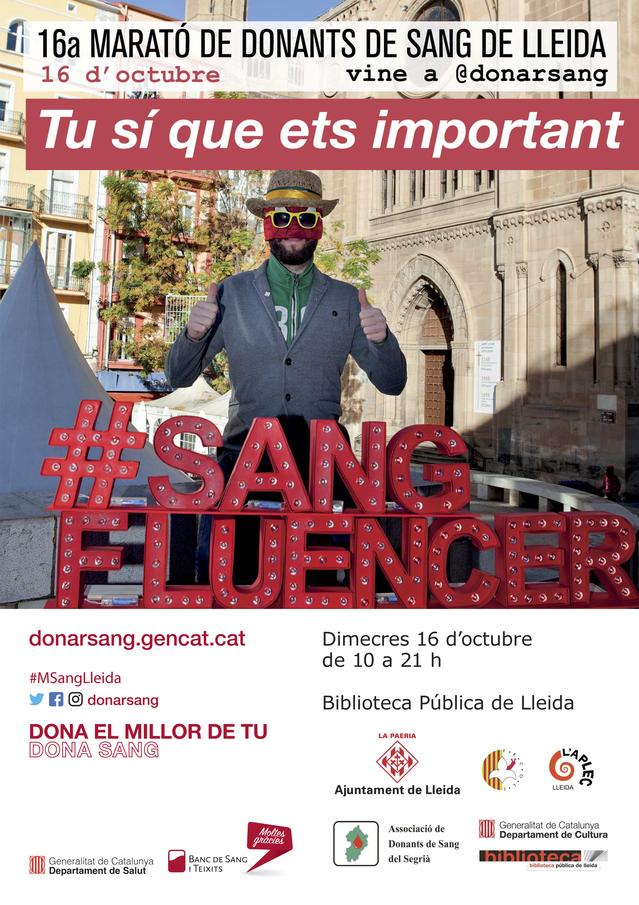 La Fecoll hace una llamada a las peñas para participar en la Maratón de Sangre del próximo 16 de octubre