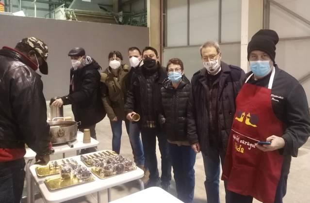 La Fecoll escalfa el Nadal amb l'Esmorzar Solidari