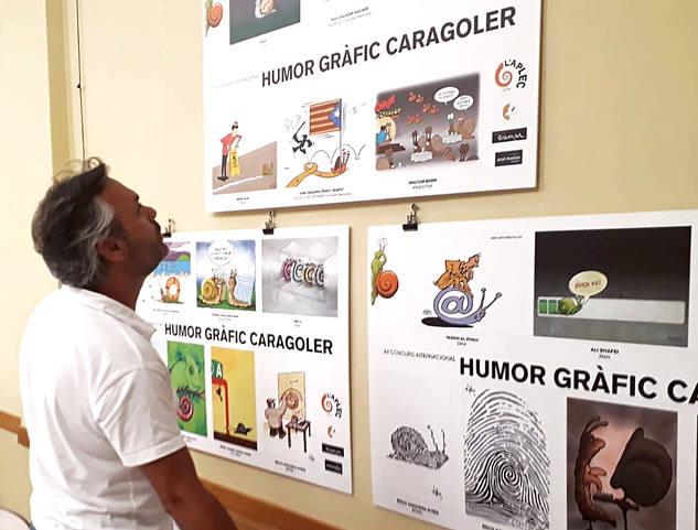 La Fecoll exhibe las mejores obras del Concurso de Humor Gráfico Caracolero