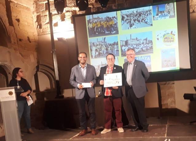 La Fecoll galardonada con el Premio Entidad 2019 de los Amigos de la Seu Vella