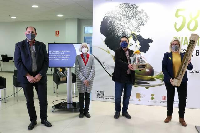 La solidaritat de la Fecoll reconeguda per La Fira de l'Oli de les Borges Blanques