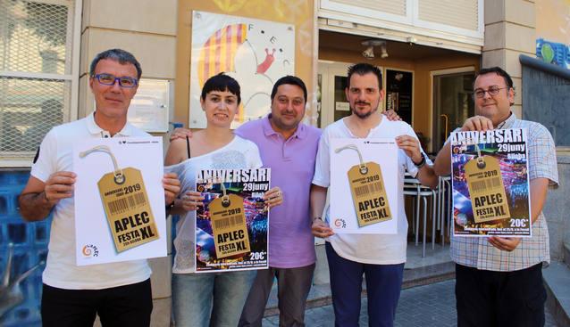 L'Aplec celebra el 40è aniversari amb una FESTA XL, a Biloba