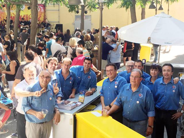Las peñas del Aplec preparan otro Obert del Centro Histórico reivindicando la cultura gastronómica y festiva del barrio antiguo