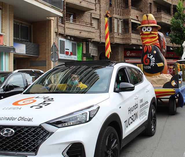 L'Hèlix porta la cercavila de l'Aplec als carrers de Lleida
