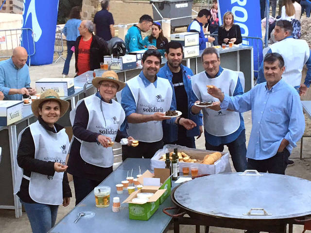 Octubre de Caracoladas Solidarias en la Feria del Turrón de Agramunt y la Feria de Sant Ermengol de la Seu de Urgell