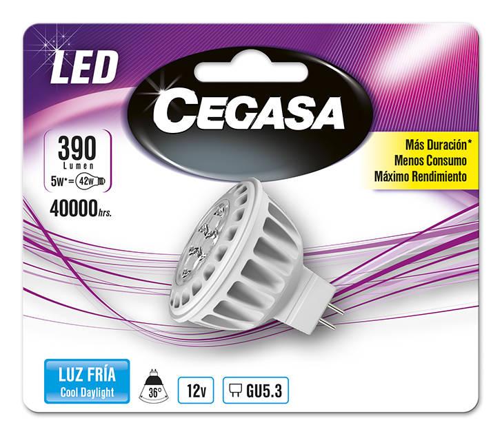 LMP CEGASA LED DIC 5W GU5.3 BL1 FRIA