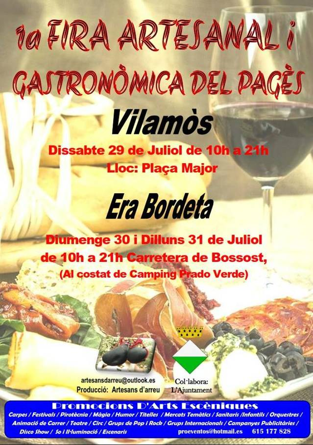 1èra Hèira Artesanau e Gastronomica deth Pagés