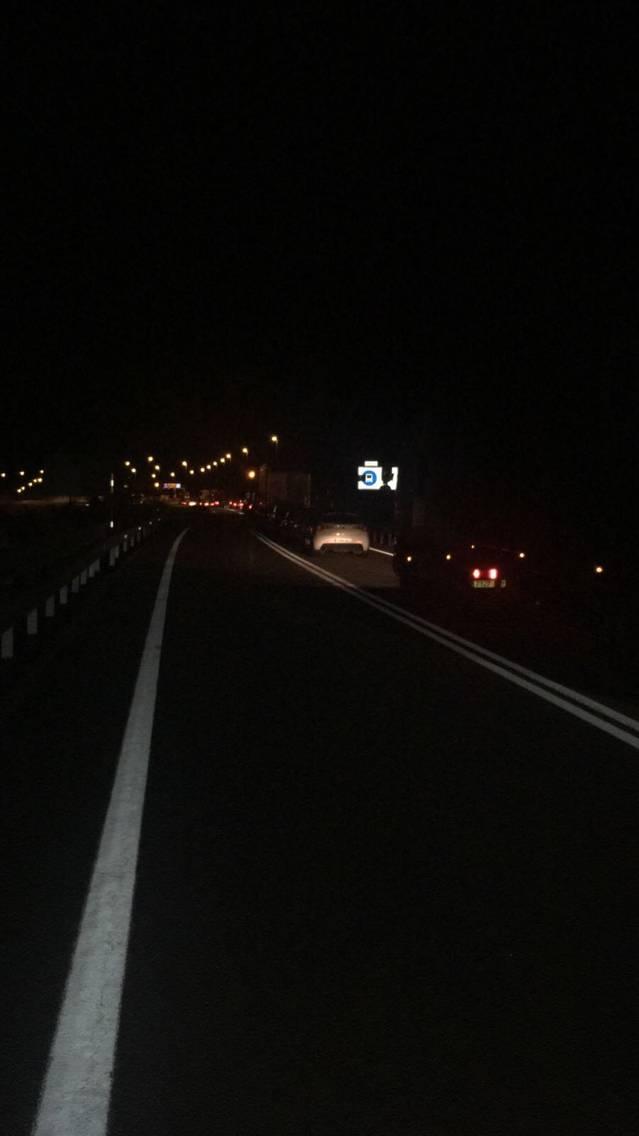 Accident a pògui mètres deth Tunèl de Vielha