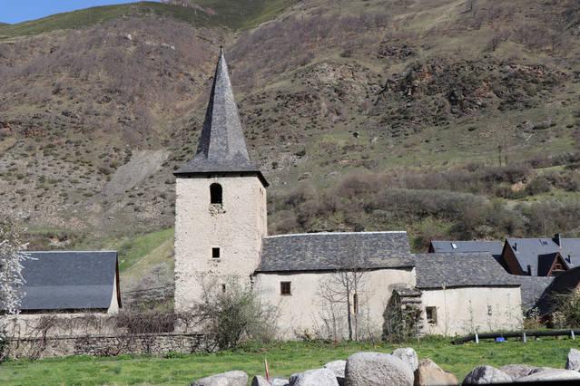 Accions de reabilitacion ena Glèisa de Sant Tomás de Casarilh