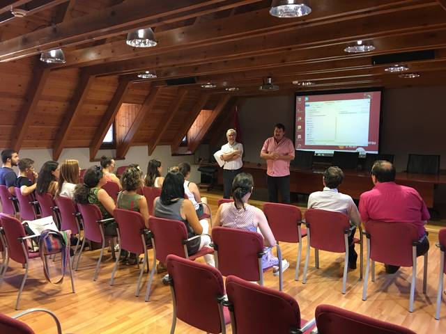 Acte de reconeishença en Conselh as delegadi verdi der Institut d'Aran