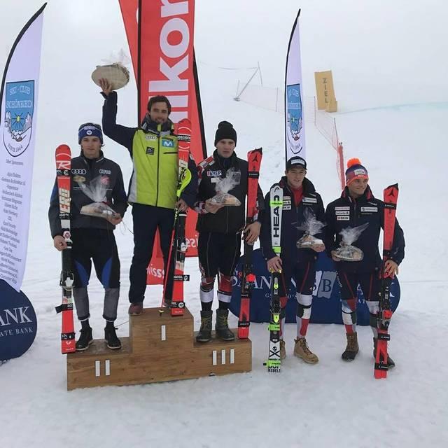 Alex Puente artenh era victòria en Slalom celebrat en Gstaad (Suïssa)