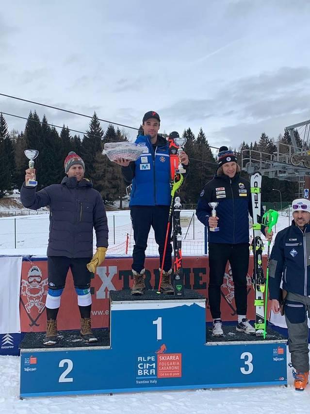 Alex Puente, campion enapròva de Slalom dera Copa Itàlia FIS