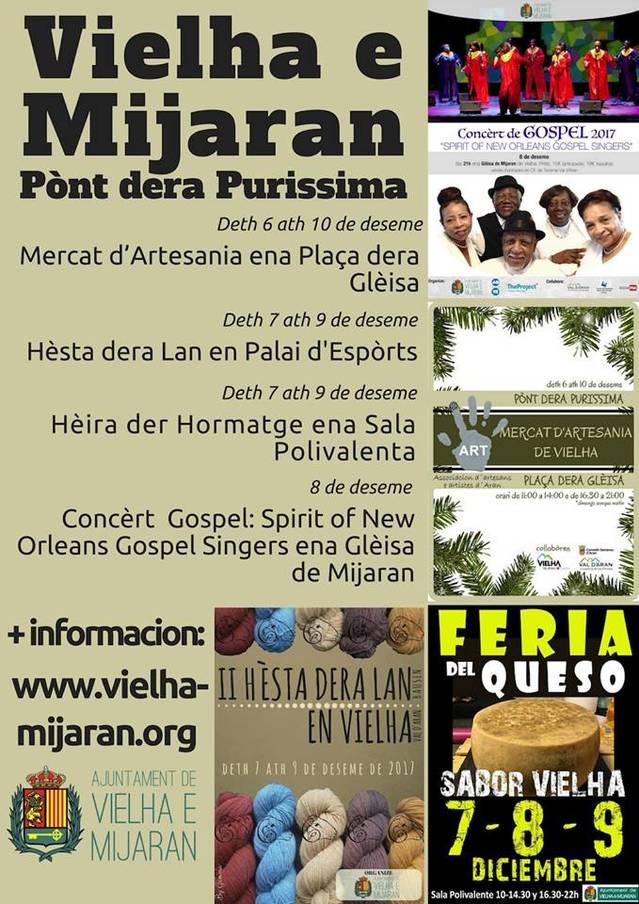 Ample ventalh d'activitats aguesti dies en Vielha!