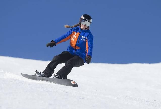 Astrid Fina, bronze enes paralímpics de Pyeongchang