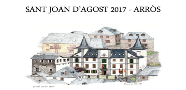Aué comence era Hèsta de Sant Joan d'Agost en Arròs