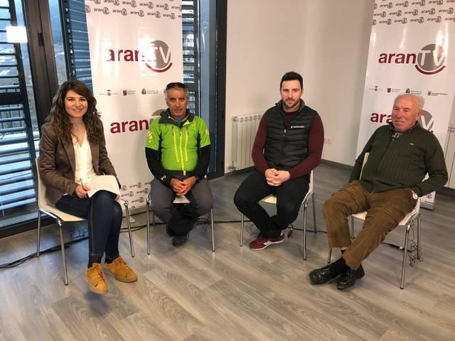 Aué, tàs 13.30 ores, estrea deth nau debat d'Aran Tv: