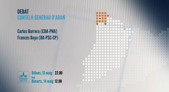 Aué tàs 22 ores, estrea deth Debat deth Conselh Generau d'Aran en Lleida Televisió