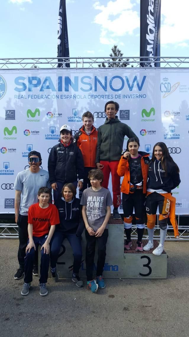 Boni resultats des equipes de competicion deth CEVA ena fasa finau dera Copa Espanha Audi U16/U14