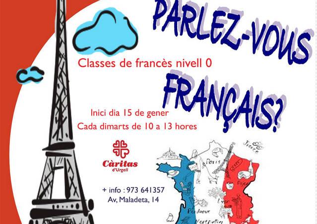 Càritas aufrís un cors de francés en Vielha