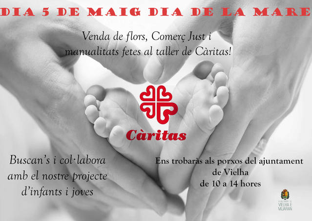 Caritas Val d'Aran celèbre un Dia dera Mair solidari