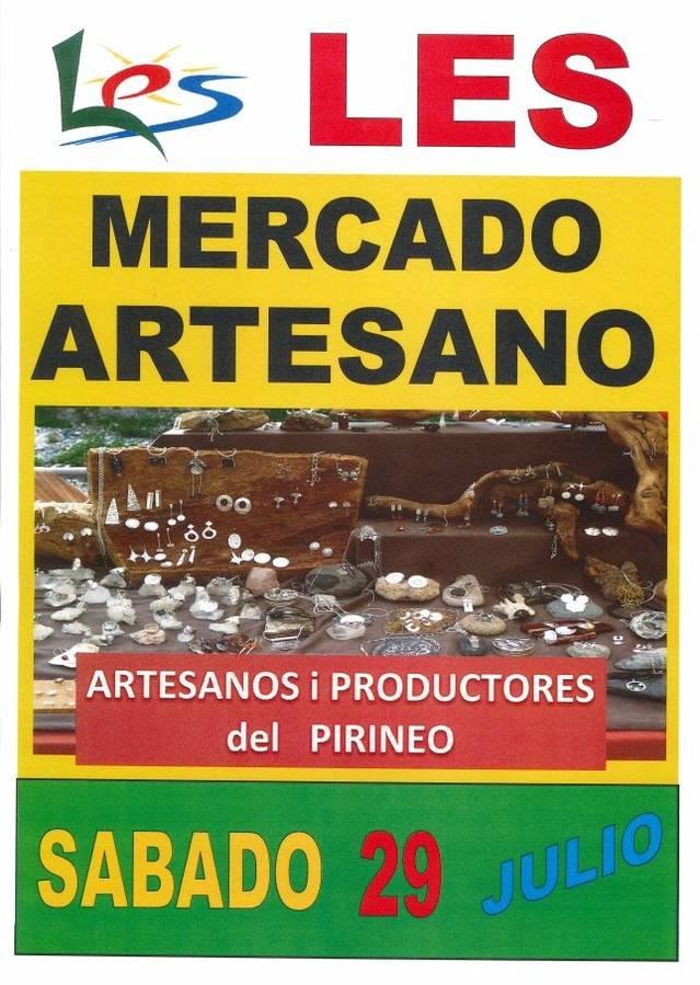Cicle de Mercats Artesanaus en Les toti es dissabtes d'ostiu