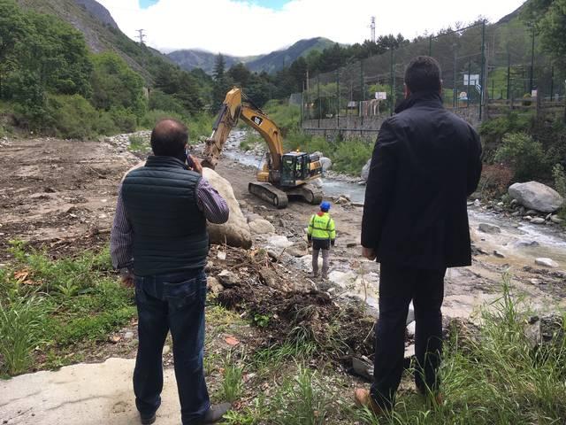 Er Ajuntament de Naut Aran destine mès de 100.000 èuros ath refortilhament de murs en Arties pes aiguats der an 2013