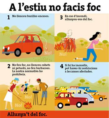 Era Generalitat incremente es recorsi entara campanha forestau d'enguan