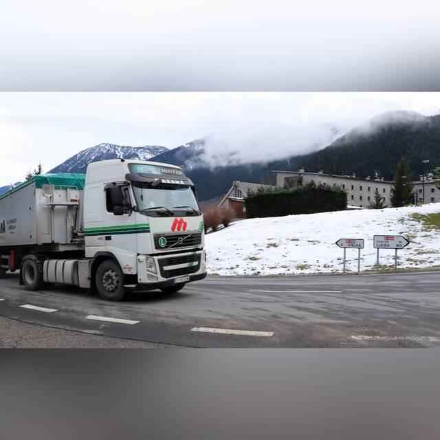 Era sindica d'Aran sollicite tornar a limitar eth pas de camions ena N-230 pendent era sason d'iuèrn