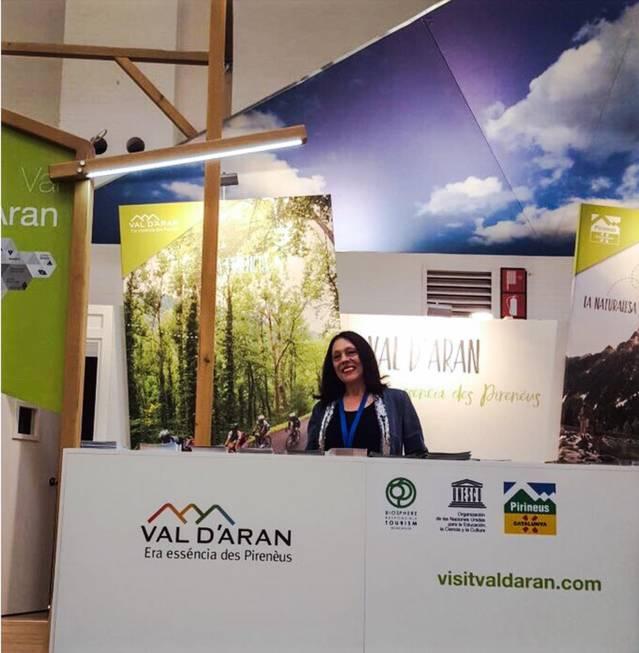 Era Val d'Aran, ena hèira B-Travel de Barcelona