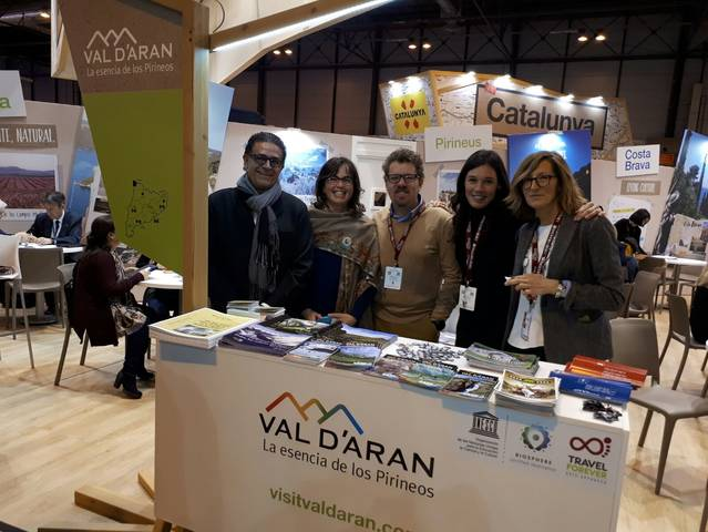 Era Val d'Aran participe ena 38au edicion de FITUR