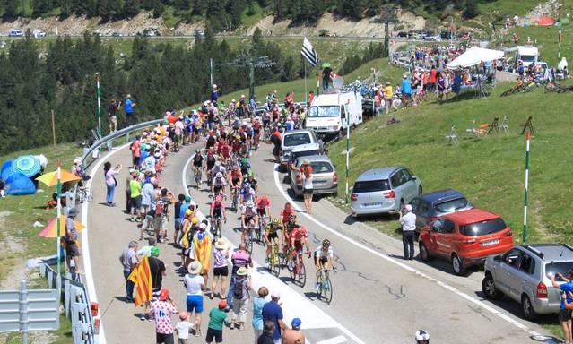 Era Val d'Aran, scenari de 2 etapes dera Volta Ciclista a Catalunya 2018