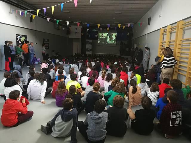 "Es alumnes dera Escòla Garona, grani cineastes deth concors ""Vielha e Mijaran: Montanha e Cinèma"""
