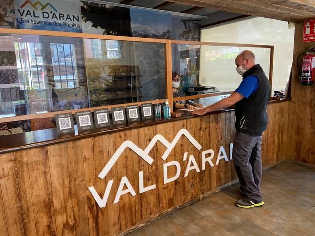 Es oficines de Torisme Val d'Aran compden damb un nau sistèma QR tà consultar es huelhetons toristics
