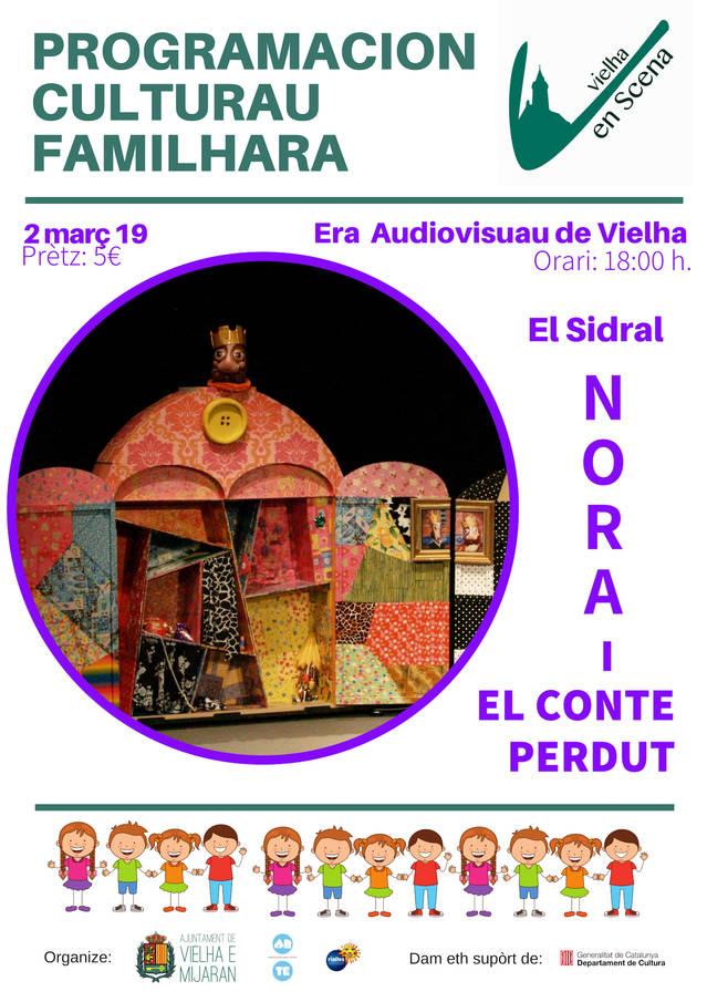 Espectacle infantil aguest dissabte ena sala Era Audiovisuau de Vielha