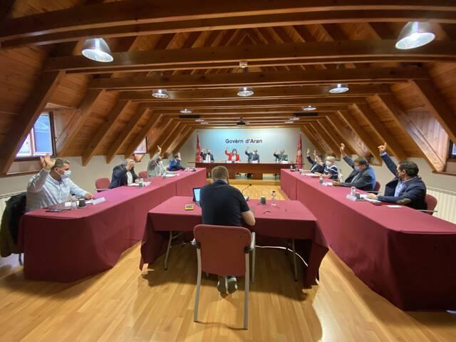 Eth Conselh Generau d'Aran a favor dera candidatura olimpica Pirenèus-Barcelona 2030