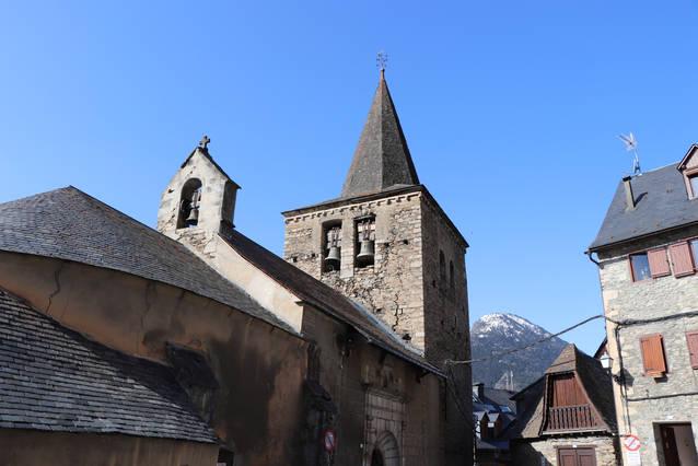 Eth Conselh Generau destine 62.000€ entara consolidacion deth campanau dera glèisa de San Pèir de Gessa