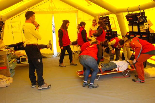 Eth Màster d'Atencion Pre espitalària e Espitalària Urgenta torne ara Val d'Aran
