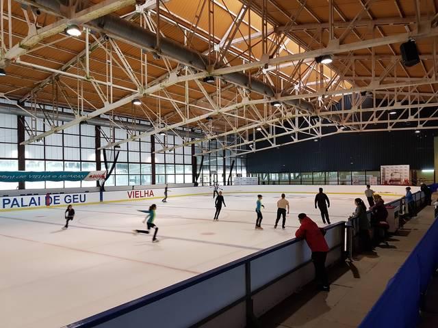 Eth Palai de Gèu scenari de grans competicions de patinatge estataus
