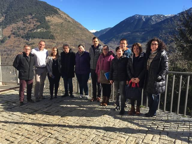 Eth Patronat de Promocion Economica visite eth  CEI dera Val d'Aran