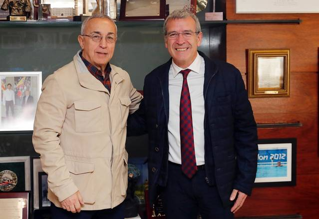 Eth sindic d'Aran s'amasse damb eth president deth Comitè Olimpic Espanhòl