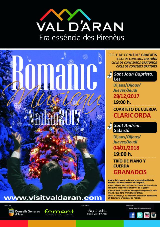 Gaudís deth Romanic Musicau aguest Nadau