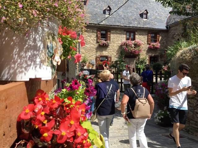 Increment de visitants en Bagergue aguest agost