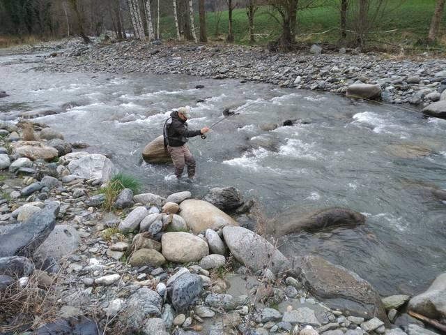 Inici dera sason de pesca en zònes de baisha montanha